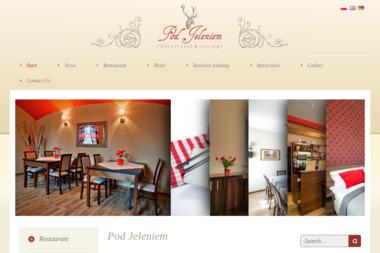 Restauracja Pensjonat Pod Jeleniem. Hotel, restauracja - Gastronomia Sobótka