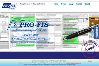 Doradztwo Podatkowe Pro-Fis. Rachunkowość, podatki - Biuro rachunkowe Dąbrowa Tarnowska