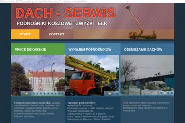 Dach-Serwis - Murowanie ścian Ełk