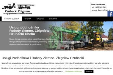 Usługi podnośnika, transportowe, roboty ziemne Zbigniew Czubacki - Roboty ziemne Chełm
