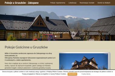 Gruszka Władysław - Firma transportowa Zakopane