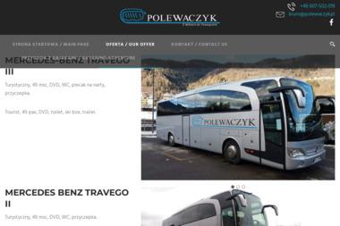 Przewóz Osób i Usługi Transportowe Kazimierz Polewaczyk - Firma transportowa Ryn