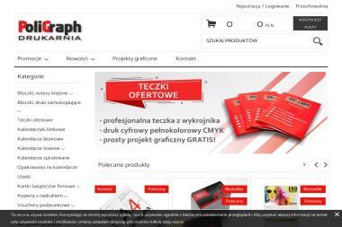 PoliGraph drukarnia. Ulotki, plakaty, naklejki - Poligrafia Rzeszów