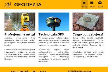 Usługi Geodezyjne Mgr Inż. Marcin Knop. Geodeta, geodezja - Geodeta Kielce