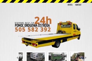 Auto Pomoc Drogowa 24H - Przeprowadzki Ostróda