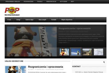 Pop-Geo S.C. Marek Połoński, Zbigniew Pietrzyk - Geodeta Piotrków Trybunalski