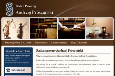 Kancelaria Radcy Prawnego Andrzej Prószyński - Adwokat Olsztyn