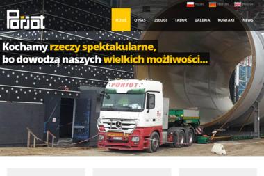 Jerzy Pordzik Porjot - Transport Ciężarowy Izbicko