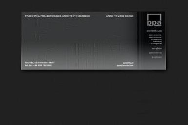 PPA Pracownia Projektowania Architektonicznego - Adaptacja projektów Bojano