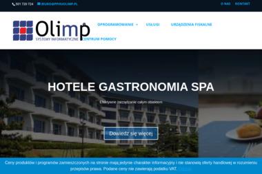 PPHU Olimp Anna Popielarz - Wykonanie Strony Internetowej Mrągowo
