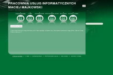 Pracownia Usług Informatycznych Maciej Majkowski - Strony WWW Orawka