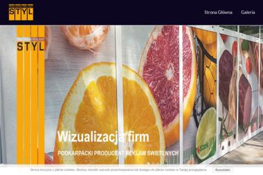 Pracownia Reklamy STYL Mariusz Kusiak - Banery Brzozów