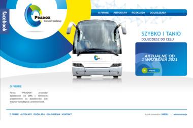 Przedsiębiorstwo Transportowe Darex Dariusz Nowak. Wynajem autokarów i busów, turystyka - Firma Przewozowa Ostrołęka