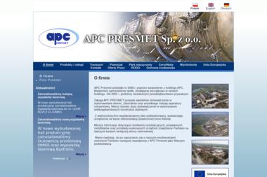 APC Presmet Sp. z o.o. Spółka Komandytowa - Hale Stalowe Opole