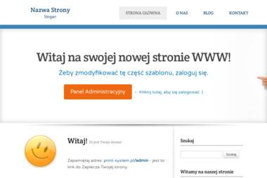 Print System S.C. Wojciech Szulc Piotr Brzeziński - Druk katalogów i folderów Bydgoszcz