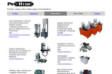 Pro-Hydro, Hydraulika Siłowa - Hydraulik Śliwice