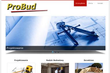 Biuro Projektów i Usług Inwestycyjnych Probud - Kierownik budowy Sanok
