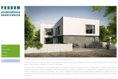 PRODOM - Projekty Domów Parterowych Kowanówko