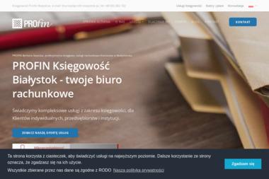 Profin Barbara Sawicka - Biuro rachunkowe Białystok