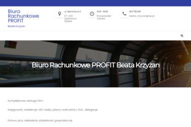 Biuro Rachunkowe PROFIT. Beata Krzyżan - Rachunkowość Ząbkowice Śląskie