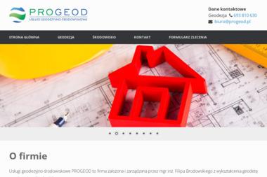 Usługi Geodezyjne Progeod, Geodeta Filip Brodowski - Geodeta Piła