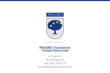 Progres Tłumaczenia - Tłumacze Słupsk