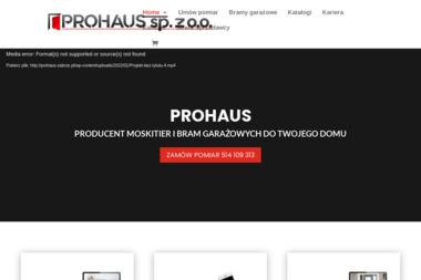 Prohaus - Bramy garażowe Zabrze