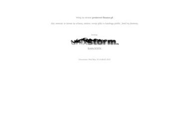 Pro Invest Finanse Sp. z o.o. - Kredyt hipoteczny Płock