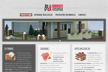 Projekt Dom Pracownia Projektowa Krystyna Siwczyk - Projekty Małych Domów Bielsko-Biała