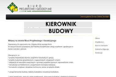 Biuro Projektowe i Geodezyjne - Geodezja Sieniawa