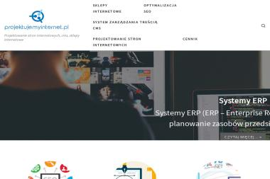 Projektujemy Internet PL. Projektowanie stron internetowych - Pozycjonowanie stron Opoczno
