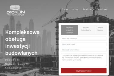 Anna Jastrzębowska proKON Obsługa Inwestycji - Kierownik budowy Ostrołęka