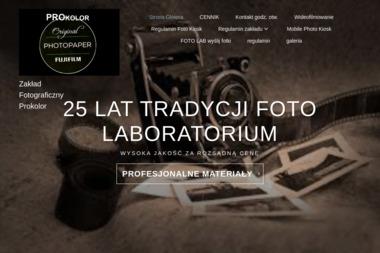 Zakład fotograficzny Prokolor - Wizytówki Poraj