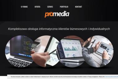 Promedia - Strony internetowe Wadowice