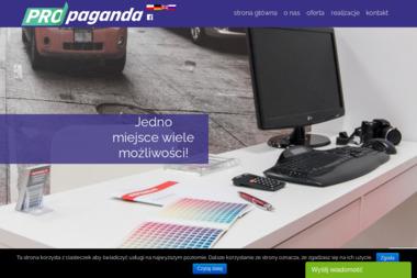 Propaganda.fm Studio Reklamy - Strony internetowe Puławy