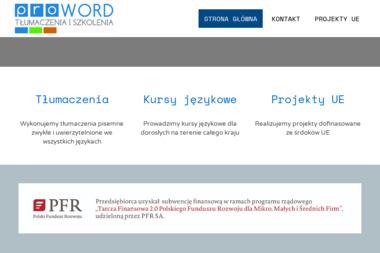 PROWORD Tłumaczenia - Tłumacze Biała Podlaska