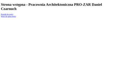 PRACOWNIA ARCHITEKTONICZNA PRO-ZAR DANIEL CZARNUCH - Adaptacja Projektu Typowego Wieluń