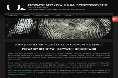 Prywatny Detektyw Krzysztof Kosiorowski - Prywatny Detektyw Legnica