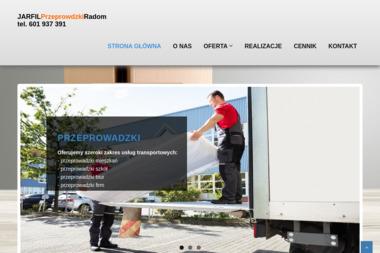 """Przedsiębiorstwo Usługowo-Handlowe PHU """"JARFIL"""" - Przeprowadzki Radom"""