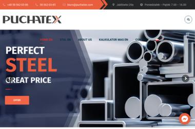 Puchatex. Składy opałowe, wyroby hutnicze - Skład węgla Tczew