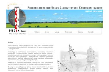 Przedsiebiorstwo Usług Geodezyjnych i Kartograficznych Józef Krok. Usługi geodezyjne, geodezja - Geodeta Sanok