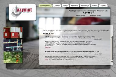 Przedsiębiorstwo Usług Geodezyjno Projektowych Azymut Antoni Ćwierz Eugeniusz Banaś - Geodeta Dąbrowa Tarnowska
