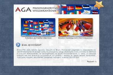 PW Aga Biuro Tłumaczeń, Szkoła Języków Obcych. Szkoła języków obcych, biuro tłumaczeń - Nauczyciele angielskiego Lubań
