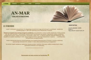 PW An-Mar. Pełna księgowość, księgi przychodów - Usługi Księgowe Młynek