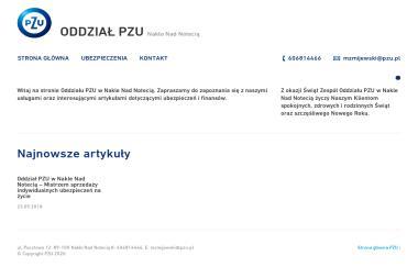 Doradca Ubezpieczeniowy PZU SA Mirosław Skrzyniarz - Ubezpieczalnia Nakło nad Notecią