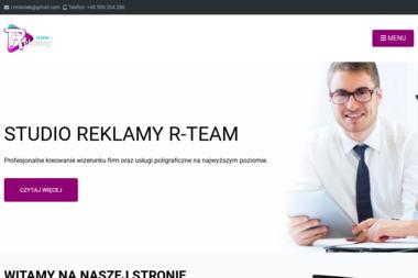 Studio Reklamy R-Team Robert Misiołek - Drukowanie Ulotek Strzelce Krajeńskie