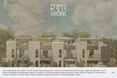 R3D3 Pracownia Architektoniczna Grzegorz Ziętek. Architekt, projekty domów, aranżacja wnętrz - Adaptacja Projektu Domu Gdynia