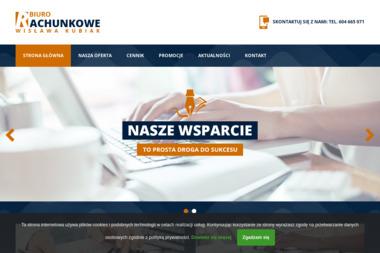 Biuro Rachunkowe. Wisława Kubiak - Księgowanie Przychodów i Rozchodów Łęczna