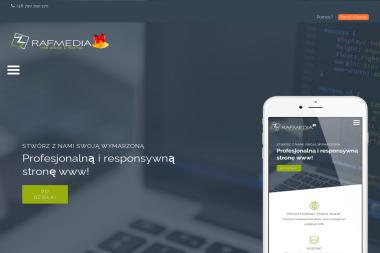 RafMedia. Serwis it, outsourcing, serwis komputerów - Strony Internetowe Siemianowice Śląskie