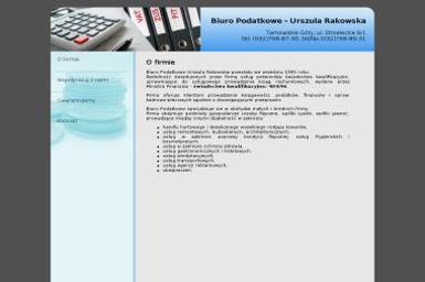 Biuro Podatkowe. Urszula Rakowska - Biuro rachunkowe Tarnowskie Góry